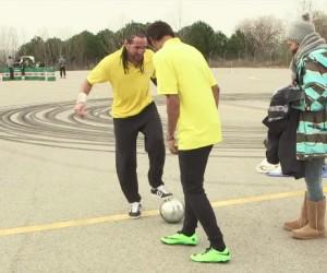 Neymar prend un petit pont (panna) par Séan Garnier, Castrol engrange les vues sur YouTube