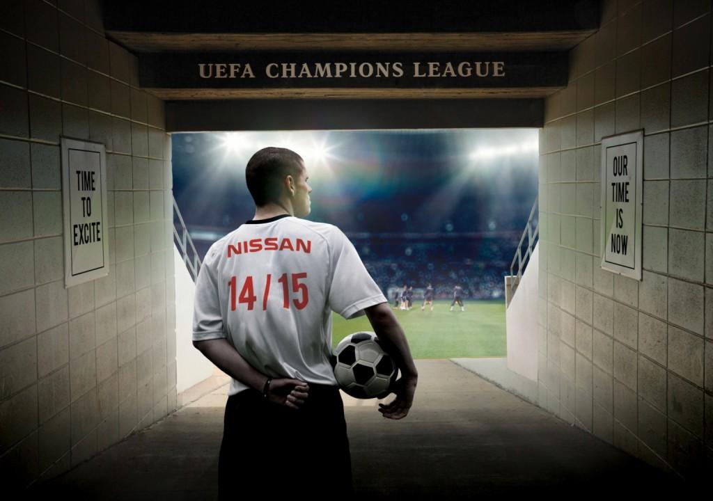 nissan UEFA champions league sponsoring