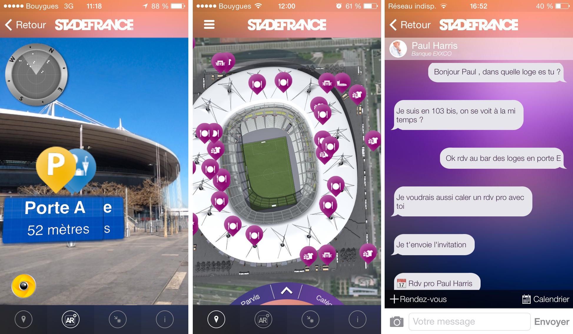 Sur le secteur du Stade de France, les gares de La Plaine Stade de France (RER  ... mobile (Android ou IOS) l'application KNOT et créez votre compte utilisateur.