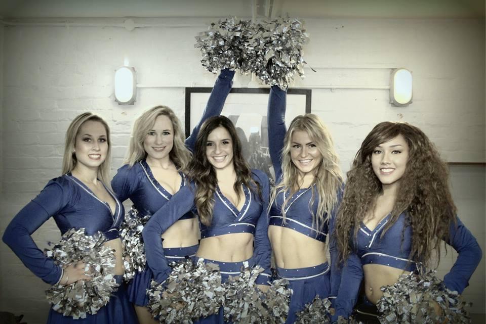 the london cheerleaders