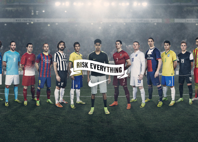 """""""Winner Stays"""" - La publicité de Nike réunissant les stars ..."""