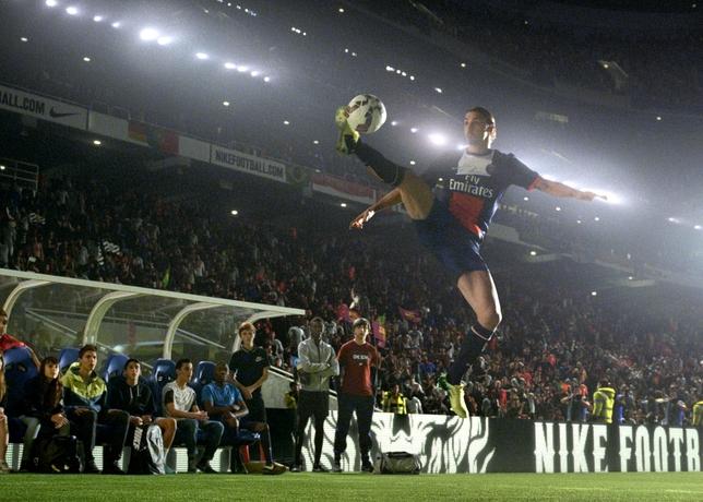 zlatan ibrahimovic winner stays Nike football