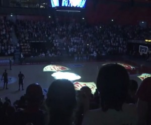 Fan Experience – On a testé le « First Basket 3D video mapping show » !