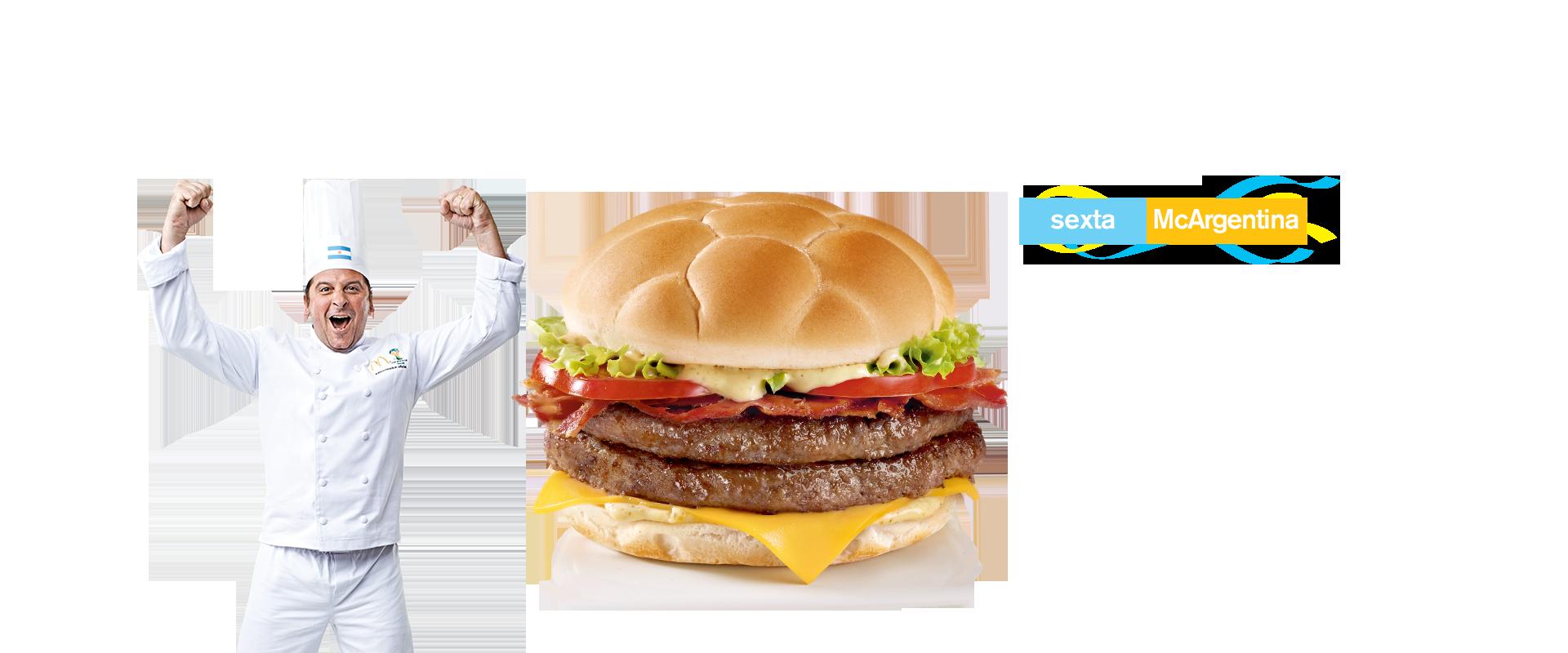 Burger McArgentina  McDonald's - Coupe du Monde 2014 (argentine)