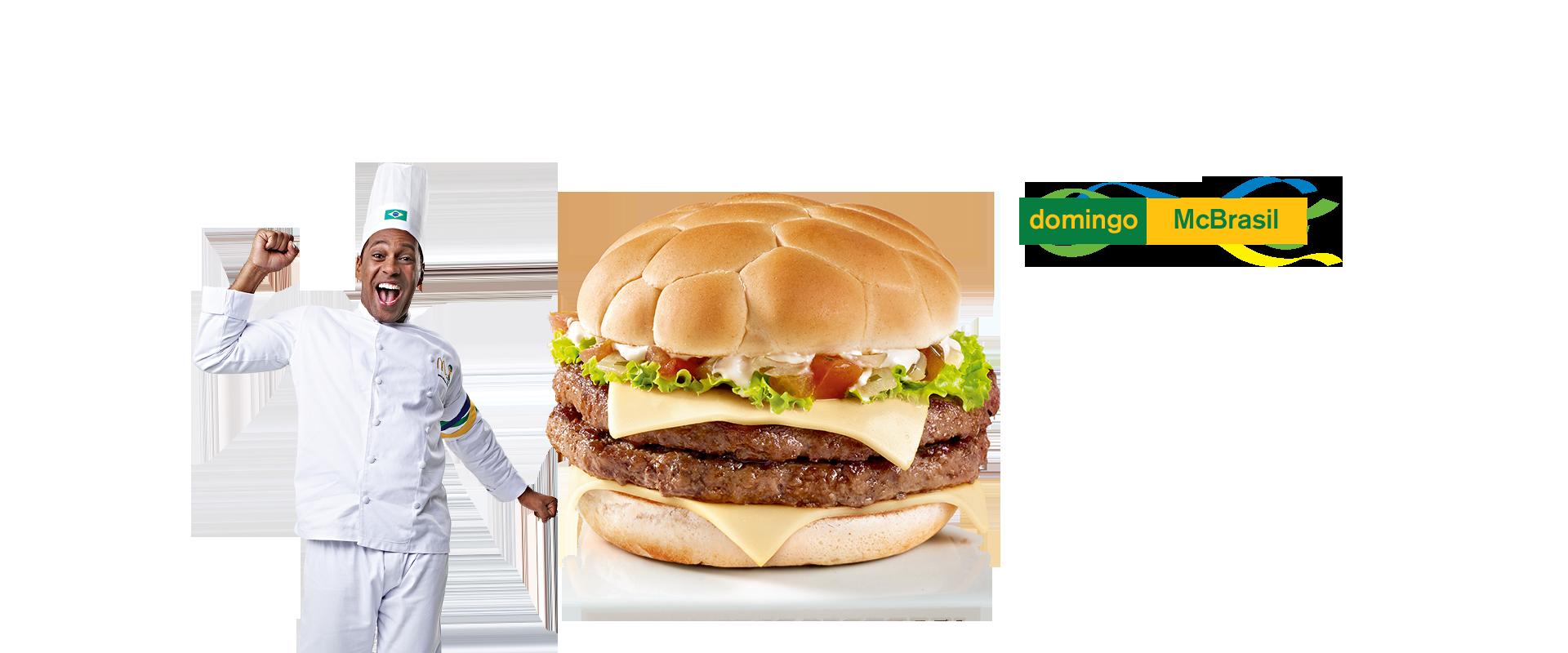 Burger McBrasil  McDonald's - Coupe du Monde 2014 (Brésil)