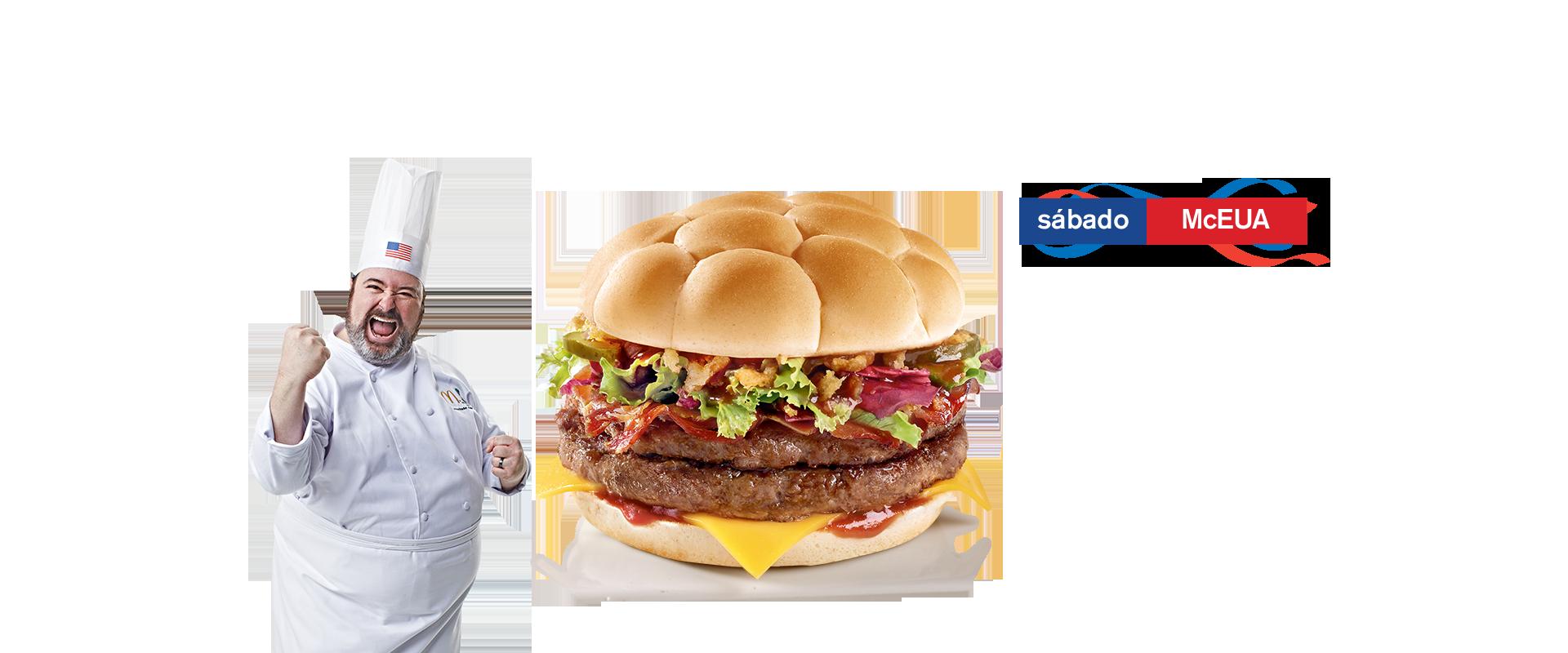 Burger McEUA  McDonald's - Coupe du Monde 2014 (USA)