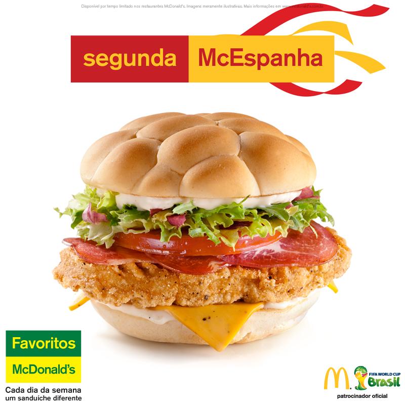 Burger McEspanha  McDonald's - Coupe du Monde 2014 (espagne)