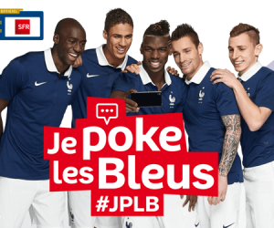 #JPLB : Envoyez vos tweets d'encouragements aux Bleus avec SFR