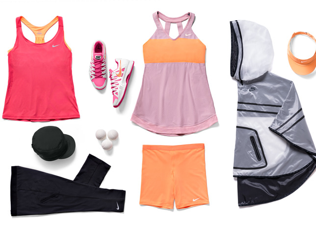 Tenue Maria Sharapova  - Roland-Garros 2014 (Nike Tennis outfit)