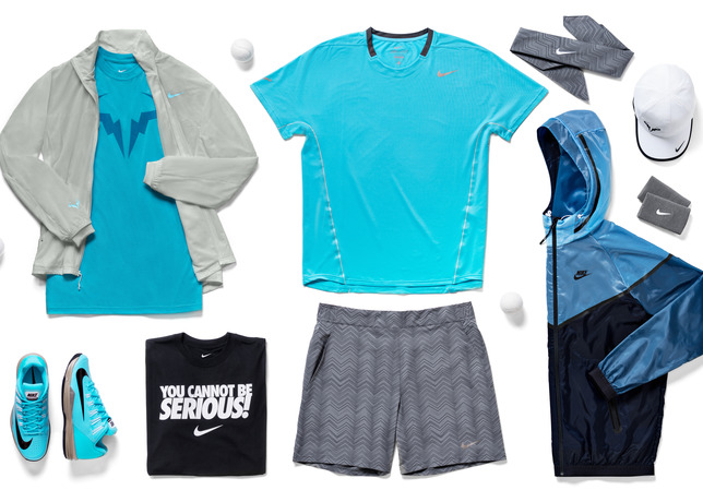Tenue Rafael Nadal  - Roland-Garros 2014 (Nike Tennis outfit)