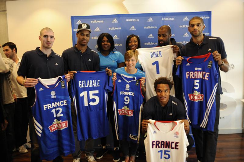adidas nouveaux maillots FFBB basket