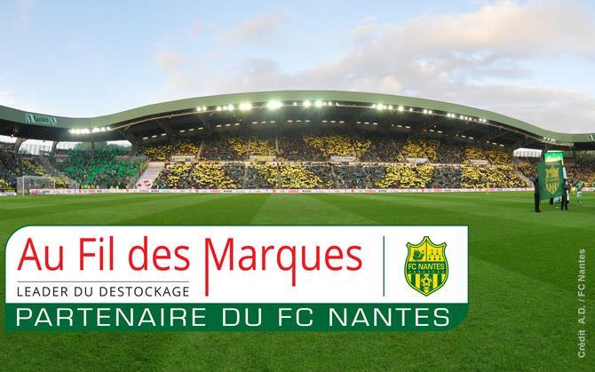 au fil des marques FC Nantes sponsoring