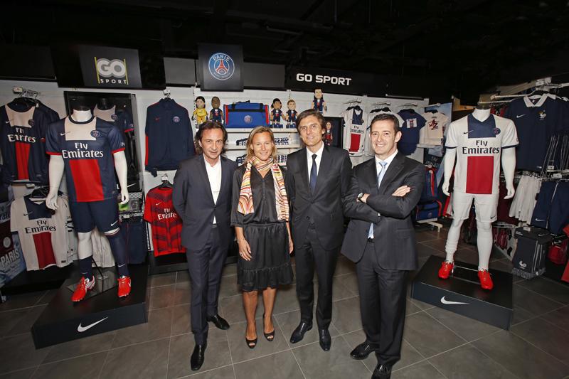 Go sport renouvelle avec le psg et devient distributeur - Magasin cap malo ...