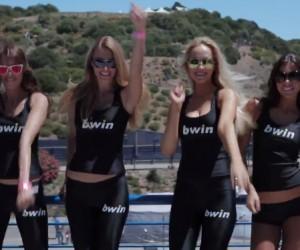 Remake du clip «HAPPY» par le MotoGP et les bwin Sports Girls