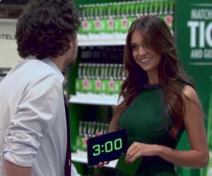 Heineken / Ligue des Champions : «3 minutes to the final» dans un supermarché chilien