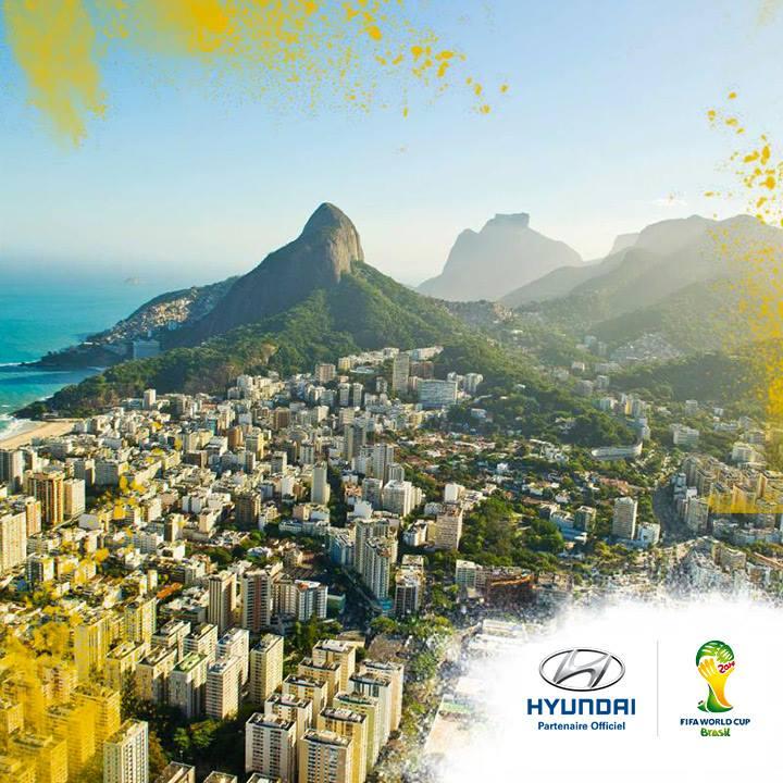 hyundai coupe du monde 2014 FIFA brésil