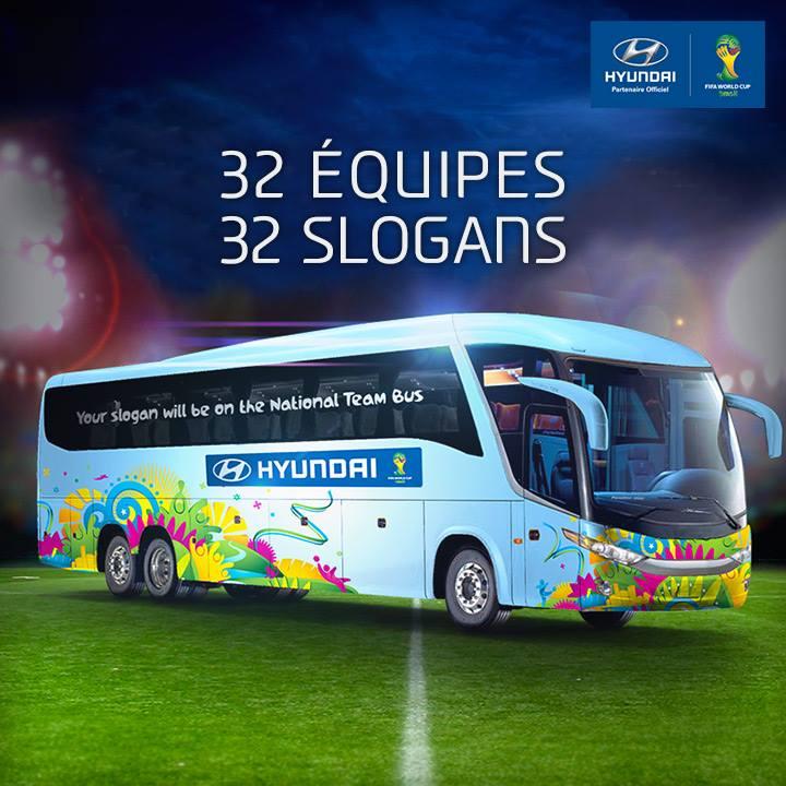 hyundai slogan bus coupe du monde 2014
