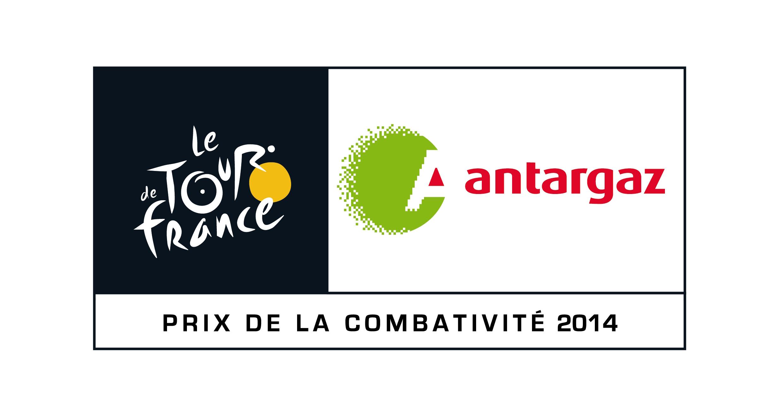 logo Antargaz prix de la combativité 2014 Tour de France