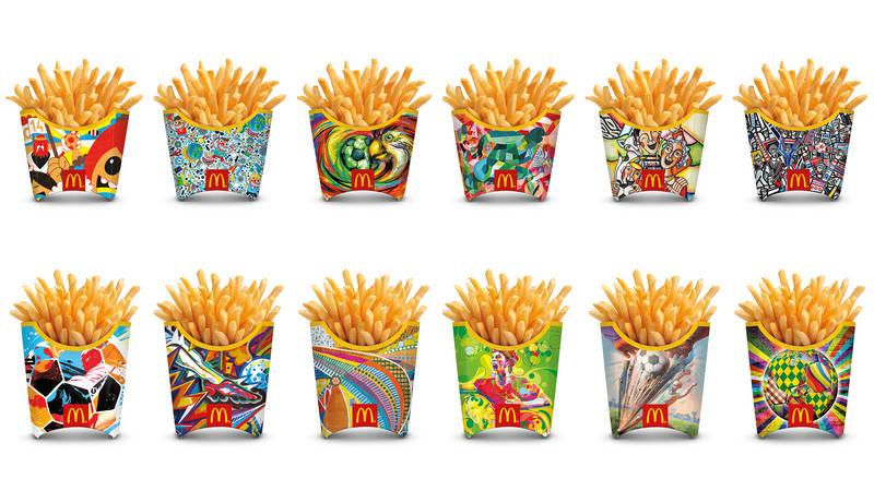 Watch McDonalds fries trick video