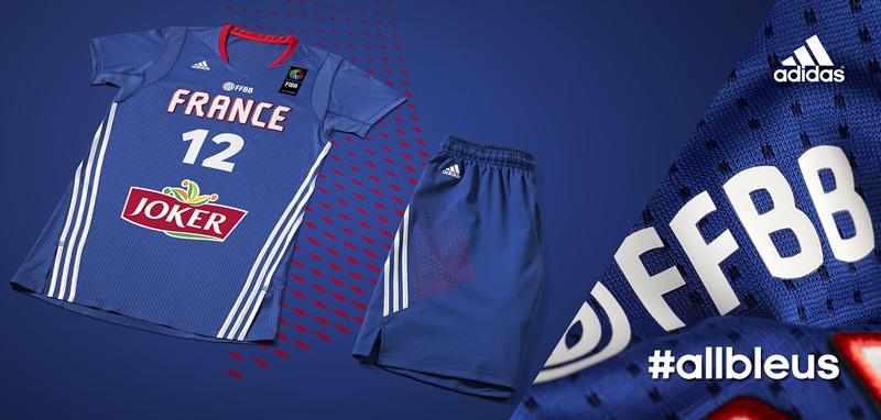 nouveau maillot à manches basket équipe de france adidas