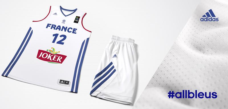 nouveau maillot adidas débardeur équipe de france blanc