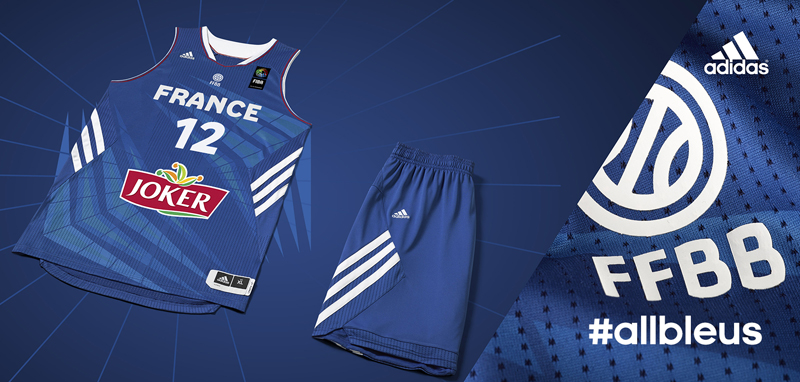 nouveau maillot bleu adidas débardeur basket bleu