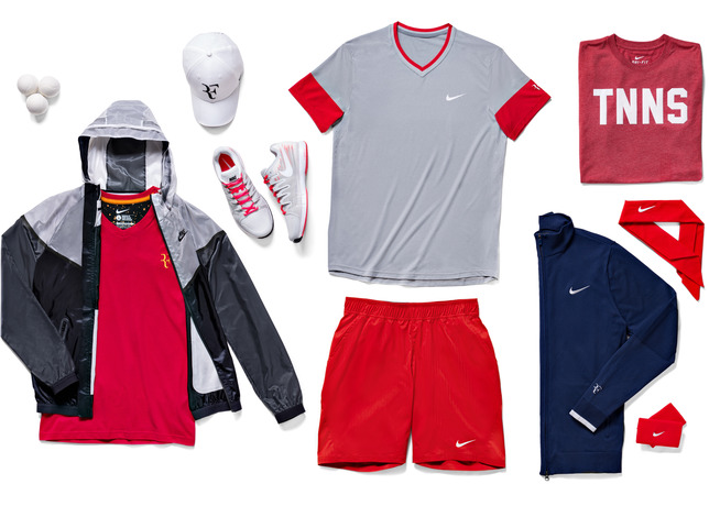 roger federer t shirt roland garros 2014 nike tennis outfit