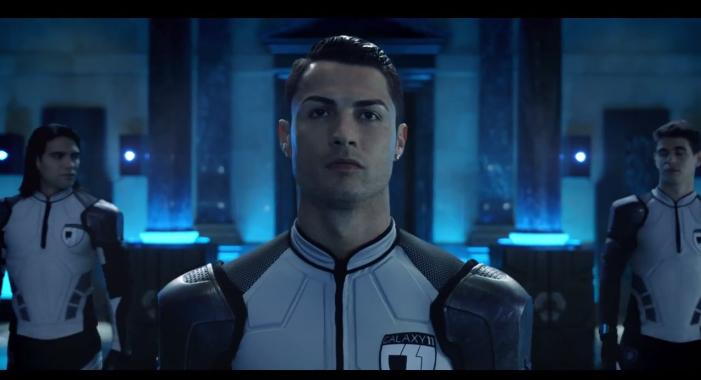 """... Training"""" - Nouveau film Samsung avec C.Ronaldo, L.Messi, R. Falcao"""