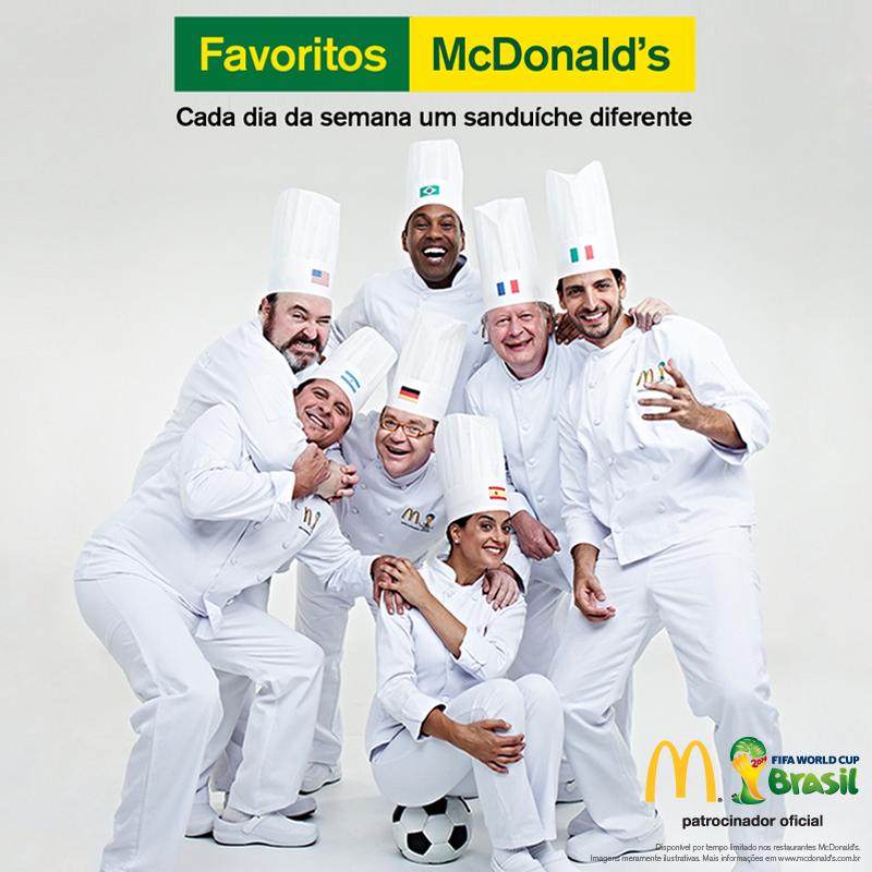 sandwich mcdonald's brésil coupe du monde 2014 favorito