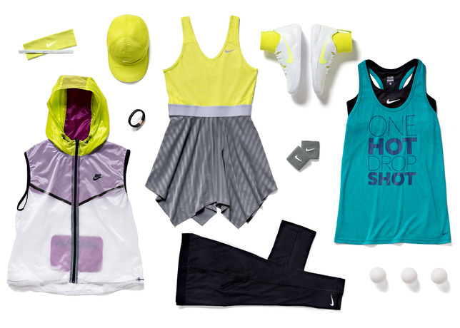 serena williams nike outfit roland garros 2014