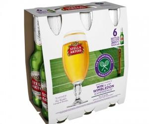 Stella Artois Bière Officielle de Wimbledon jusqu'en 2018