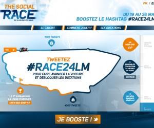 Les 24h du Mans lancent une course sociale sur Twitter via #Race24LM