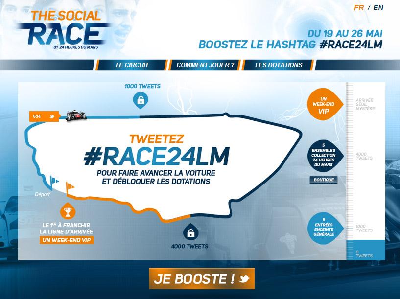 the social race 24h du mans 2014 #race24LM