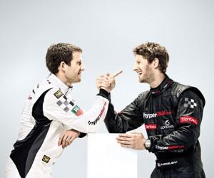 Sponsoring – Hyperassur s'engage avec Romain Grosjean et Sébastien Ogier