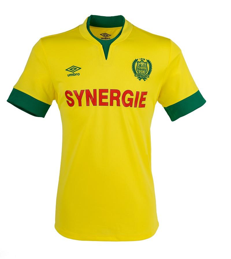 Nouveau maillot home 2014 2015 FC Nantes (Umbro)