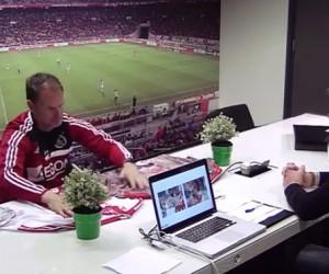 adidas piège les joueurs de l'Ajax Amsterdam en présentant de faux nouveaux maillots pour 2014/2015