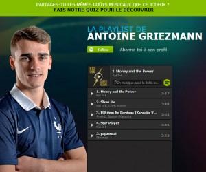 Spotify accompagne les Bleus au Brésil