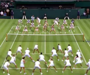 La BBC réunit les stars du tennis sur le Centre Court de Wimbledon pour son spot publicitaire