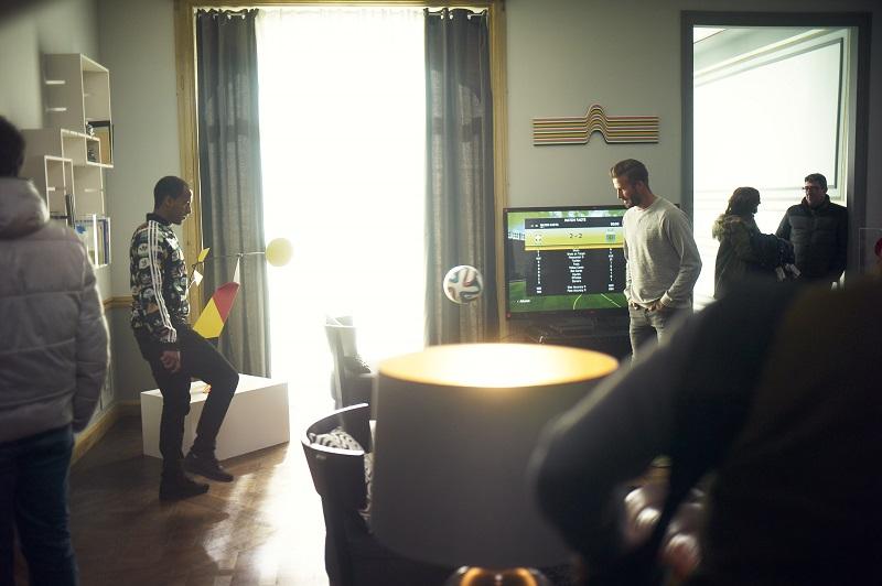 beckham zidane lucas moura gareth bale pub adidas coupe du monde 2014 house match