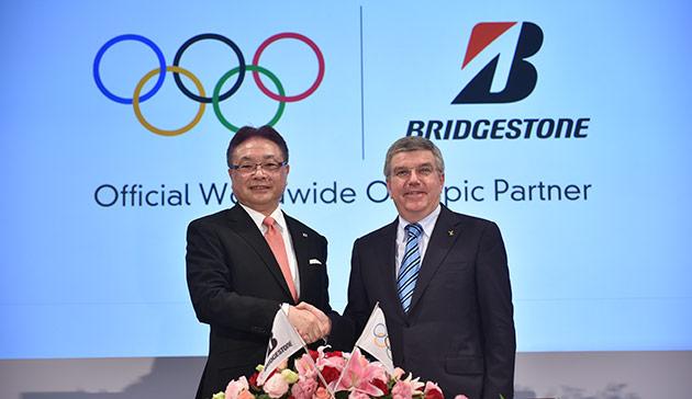 bridgestone CIO sponsoring TOP