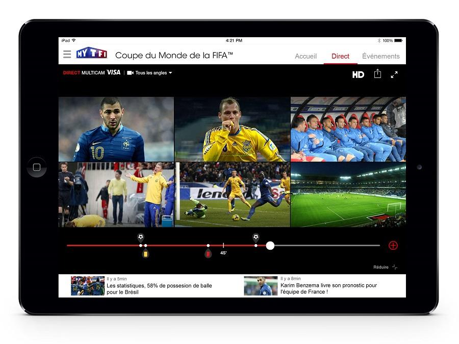 Coupe du monde 2014 les 28 matchs de tf1 en multicam sur votre mobile tablette ou ordinateur - Coupe du monde u17 en direct ...