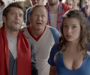 Bixente Lizarazu dans la campagne publicitaire FDJ et «ParionsSport» pour la Coupe du Monde 2014