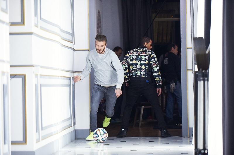 house match adidas gareth bale lucas moura zidane beckham pub coupe du monde 2014