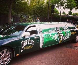 Partez à la recherche de la Limousine Perrier dans les rues de Paris et faites une arrivée VIP à Roland-Garros !