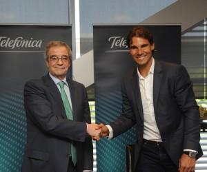 Rafael Nadal nouvel ambassadeur de Telefonica