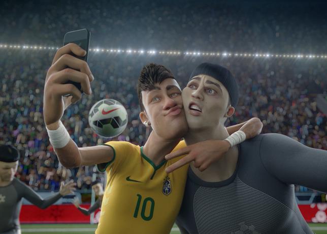 nike football the last game neymar selfie