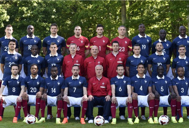 photo officielle équipe de france coupe du monde 2014