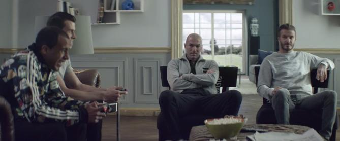 pub adidas zidane beckham lucas moura gareth bale coupe du monde 2014