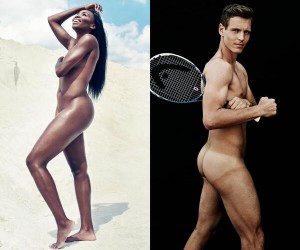 Venus Williams et Thomas Berdych posent nus pour le magazine « The Body Issue 2014 » d'ESPN