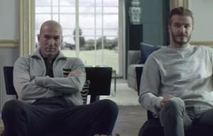 Zidane et Beckham défient Lucas Moura et Gareth Bale dans le film «House Match» (adidas)